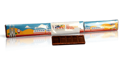 Pack of 3 20g chocolate tablets