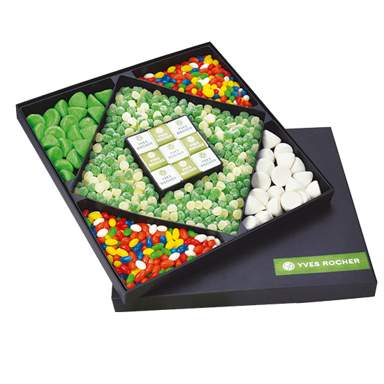Caja XXL mix de chuches. 380x380x380 mm