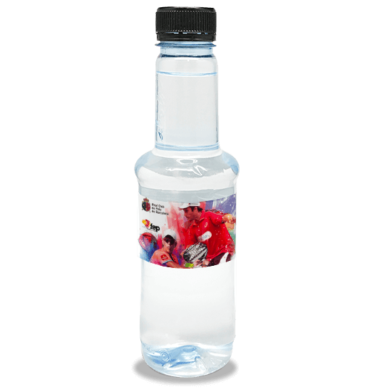 Color water bottle of 330 ml