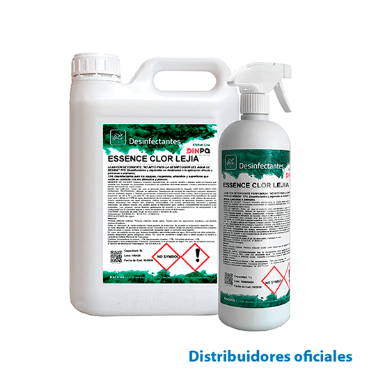 Chlorinated multi-surface disinfectant (ESSENCE CLOR LEJIA)