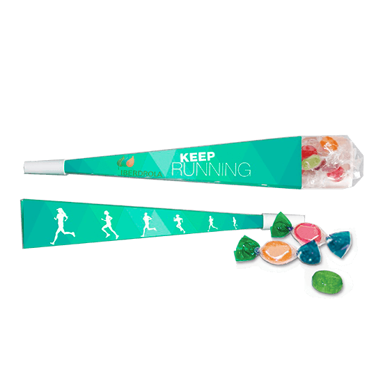 Vuvuzela with candies