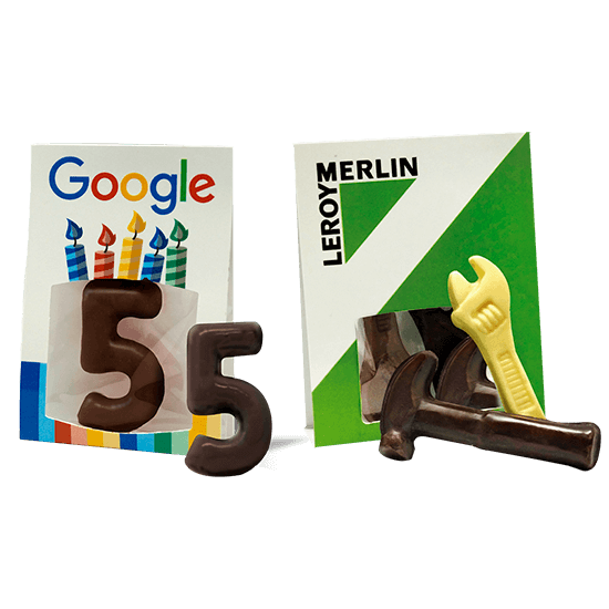 Chocolate piece creative holder