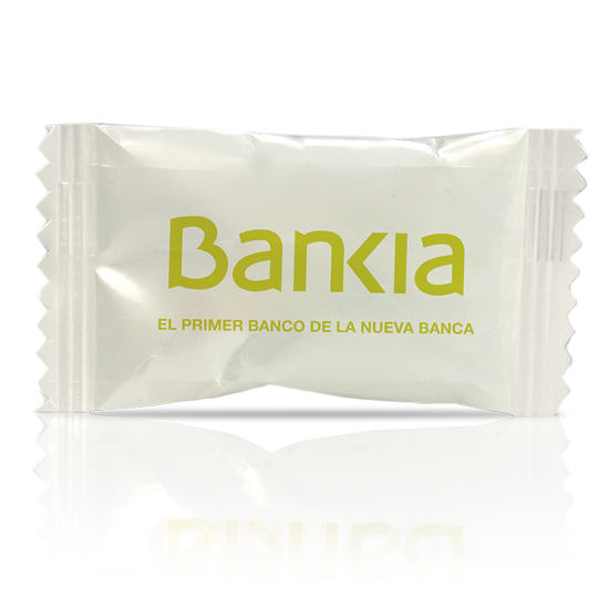 Buy personalized and advertising gluten-free flowpack candy