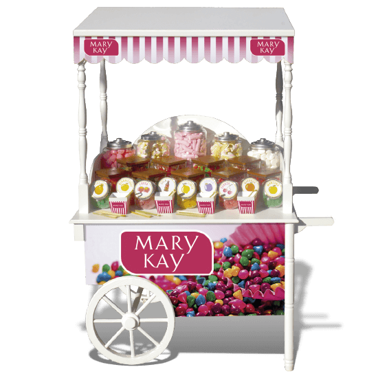 Candy and snacks trolley