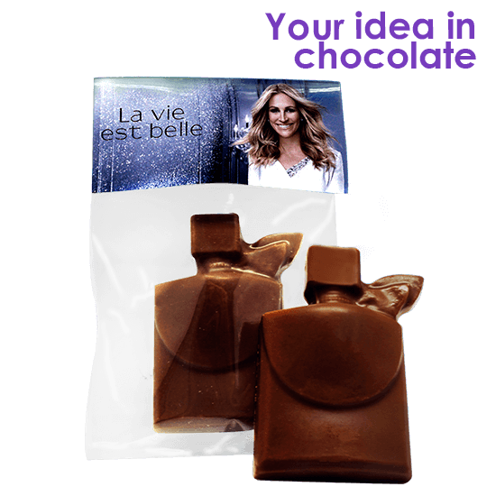 Bag with 1 piece of chocolate