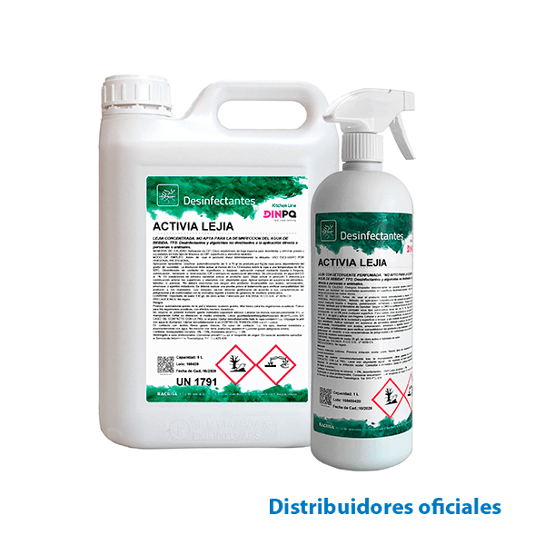 Stabilized chlorinated disinfectant (ACTIVIA LEJÍA)