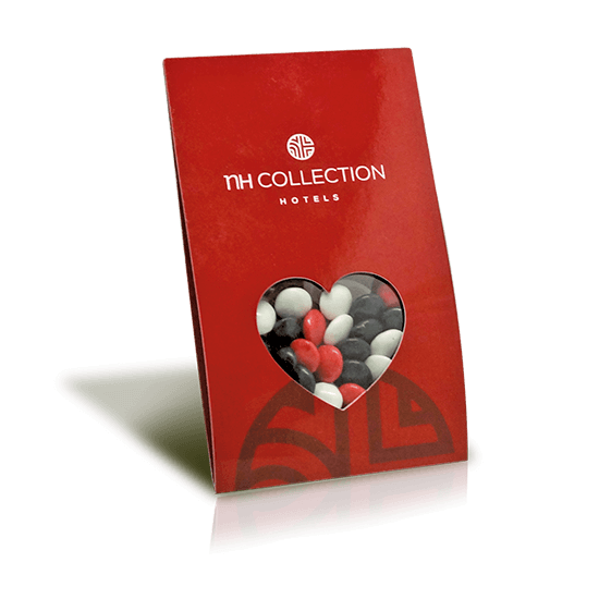 Valentine´s Day chocolate card