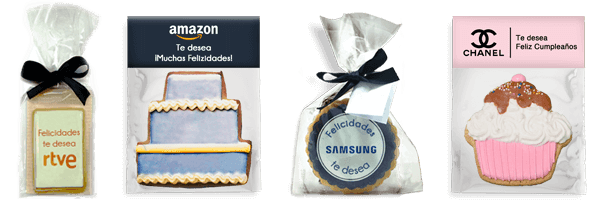 Artisan cookie with personalized design