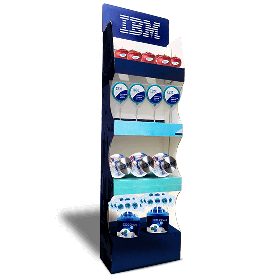 Products stand display