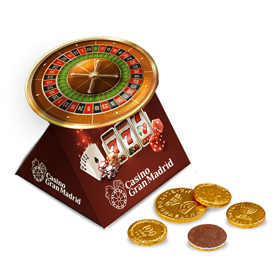 Duo box with chocolate coins